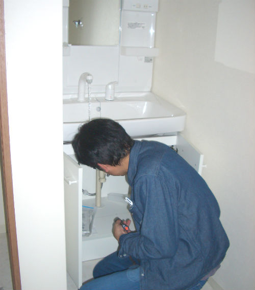 洗面台の診断
