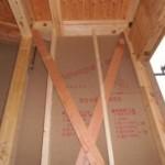 木造軸組工法の一戸建て住宅の構造金物取り付け後のチェックポイント