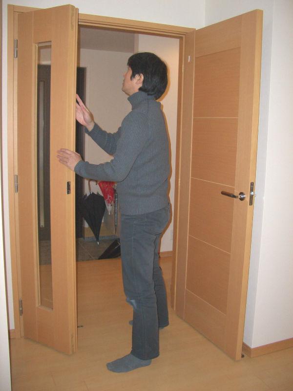 扉の調整不良