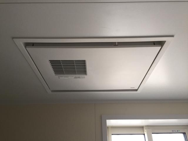 浴室天井の換気設備