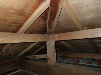 屋根野地板の結露の事例